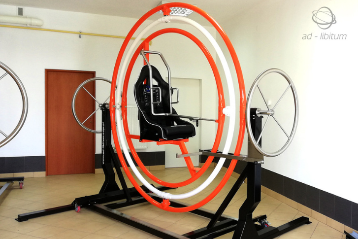 recreational commercial gyroscope trainer AD-LIBITUM 9